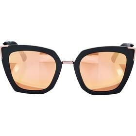 Oakley Sideswept Lunettes de soleil Femme, velvet black/prizm rose gold polarized
